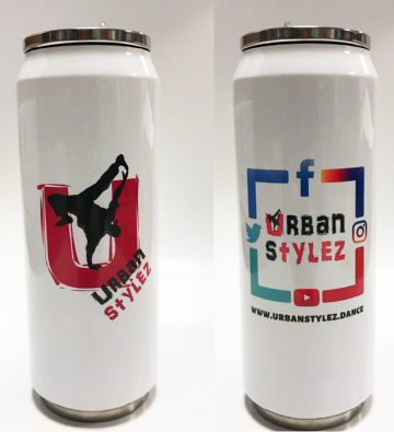 Urban Stylez Insulated Thermal Can Water Bottle